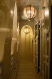 Corridoio dell'hotel di Marrakesh Fotografia Stock Libera da Diritti