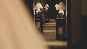 Corridoio dell'hotel a Hanoi Immagine Stock