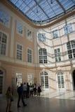 Corridoio dell'interiore della galleria di Albertina Immagini Stock