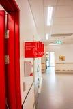 Corridoio dell'ospedale Immagini Stock Libere da Diritti