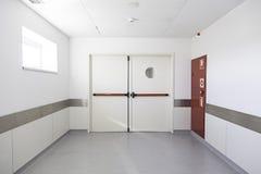 Corridoio dell'ospedale profondo Immagine Stock