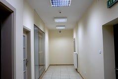 Corridoio dell'ufficio. Fotografia Stock Libera da Diritti