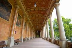 Corridoio della bevanda di Baden Baden Fotografia Stock