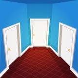 Corridoio della Camera Fotografia Stock Libera da Diritti