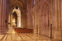 Corridoio della cattedrale Immagini Stock