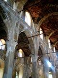Corridoio della chiesa Fotografie Stock Libere da Diritti