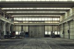 Corridoio della costruzione della fabbrica Immagini Stock Libere da Diritti