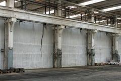 Corridoio della costruzione della fabbrica Fotografia Stock Libera da Diritti