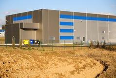 Corridoio della fabbrica Immagine Stock