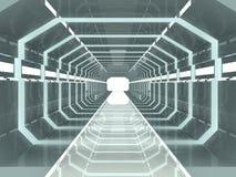 Corridoio della fantascienza Immagini Stock Libere da Diritti