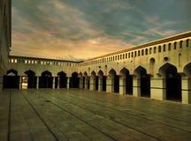 Corridoio della moschea Fotografia Stock Libera da Diritti