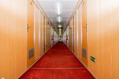 Corridoio della nave da crociera Fotografie Stock Libere da Diritti