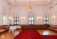 Corridoio della sala da ballo Fotografia Stock
