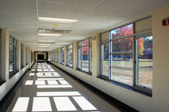 Corridoio della scuola Immagine Stock Libera da Diritti