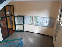 Corridoio della scuola Immagini Stock Libere da Diritti