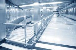 Corridoio della stazione di metro Fotografie Stock