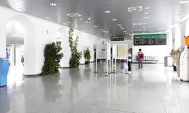 Corridoio della stazione ferroviaria Fotografia Stock