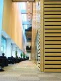 Corridoio delle biblioteche Immagini Stock Libere da Diritti