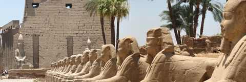 Corridoio dello Sphinx Fotografia Stock