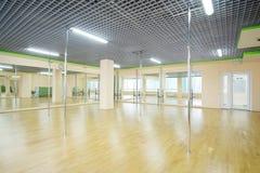 corridoio di ballo o di forma fisica Fotografia Stock Libera da Diritti
