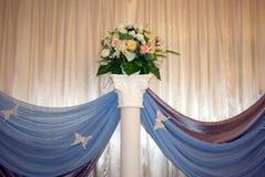 Corridoio di cerimonia nuziale Fotografie Stock