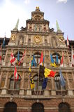 Corridoio di città di Anversa Immagine Stock