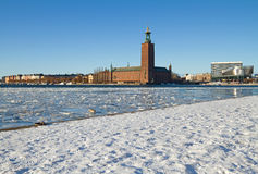 Corridoio di città di Stoccolma. Immagine Stock Libera da Diritti