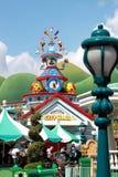 Corridoio di città di Toontown Disneyland Fotografie Stock