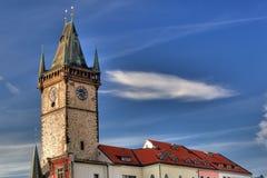 Corridoio di città a Praga fotografia stock libera da diritti