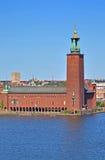Corridoio di città a Stoccolma Fotografia Stock Libera da Diritti