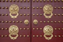 Corridoio di dinastia della Cina luoyang zhou dentro il portone di zhu Qi fotografia stock libera da diritti