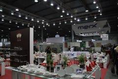 Corridoio di exhibitioan di Expoforum internazionale. Immagine Stock Libera da Diritti