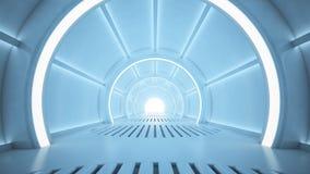 Corridoio di fantascienza Fotografie Stock Libere da Diritti