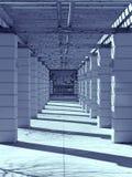 Corridoio di fantasia fotografia stock