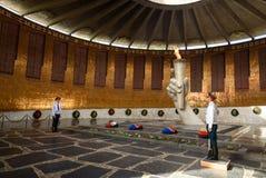 Corridoio di gloria militare Mamayev complesso commemorativo Kurgan a Volgograd Immagine Stock Libera da Diritti