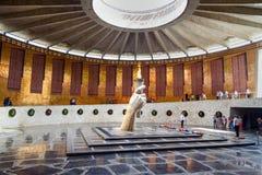 Corridoio di gloria militare Mamayev complesso commemorativo Kurgan a Volgograd Immagini Stock