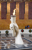 Corridoio di gloria militare Mamayev complesso commemorativo Kurgan a Volgograd Fotografia Stock Libera da Diritti