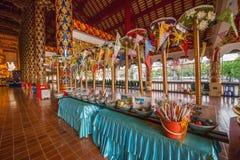 Corridoio di Maisong De temple della radura della Tailandia Fotografia Stock
