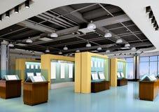 corridoio di mostra 3d Immagini Stock Libere da Diritti