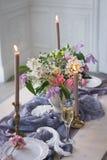 Corridoio di nozze della decorazione Immagini Stock