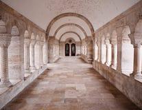 Corridoio di pietra Immagine Stock Libera da Diritti