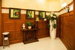 Corridoio di ricezione del giardino della Comunità Fotografie Stock