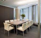 Corridoio di riunione dell'ufficio Immagini Stock Libere da Diritti