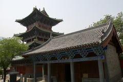 Corridoio di Shaolin Temple Buddha fotografia stock
