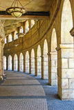 Corridoio di stile di Macao Portogallo Fotografia Stock Libera da Diritti