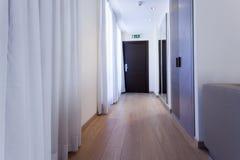 Corridoio di un albergo di lusso Immagine Stock Libera da Diritti