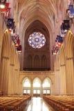 Corridoio di una cattedrale Fotografia Stock