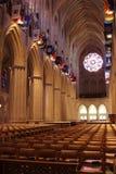 Corridoio di una cattedrale Fotografia Stock Libera da Diritti