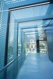 Corridoio di vetro del tetto Immagini Stock