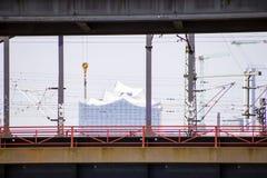 Corridoio filarmonico a Amburgo Fotografie Stock Libere da Diritti